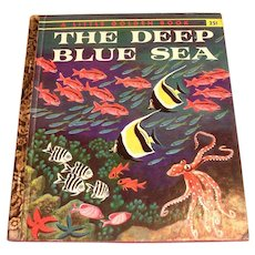 Little Golden Book: The Deep Blue Sea, 1958, A Edition