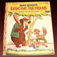 Little Golden: Walt Disney's: Uncle Remus Children's Book - 1946