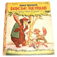 Little Golden: Walt Disney's: Uncle Remus Children's Book - 1946