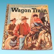 Little Golden Books: Wagon Train, 1958