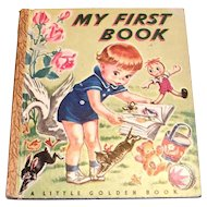 Little Golden: My First Book - 1947, K Edition
