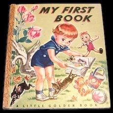 Little Golden: My First Book - 1947, K Edition