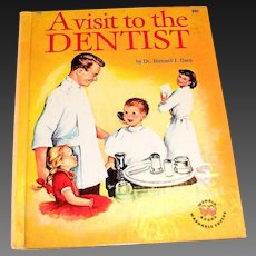 Wonder Books: A Visit To The Dentist Children's Book - 1959