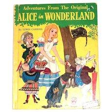 Wonder Books: Adventures From The Original Alice in Wonderland Children's Book