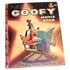 Little Golden: Disney's - Goofy, Movie Star, 1956, A Edition