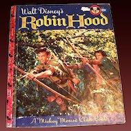 Little Golden: Disney's: Robin Hood Children's Book - 1955, B Edition