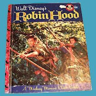 Little Golden: Disney's: Robin Hood Children's Book - 1955, B Edition