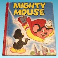 Treasure Books: Mighty Mouse Children's Book - 1953