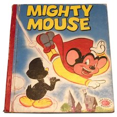 Treasure Books: Mighty Mouse Children's Book - 1953