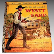 Little Golden: The Life & Legend Of Wyatt Earp Children's Book - 1958