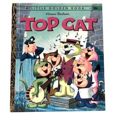 Little Golden Book: Hanna-Barbera: Top Cat Book