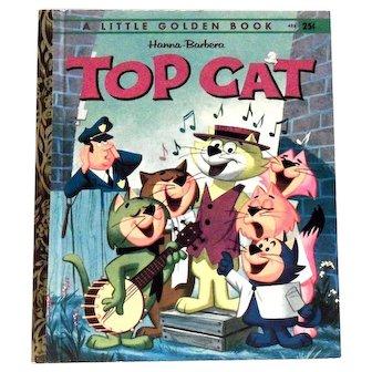 Little Golden Book: Hanna-Barbera: Top Cat Book