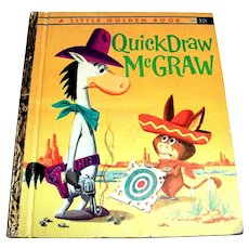Little Golden: Quick Draw McGraw Children's Book - 1960