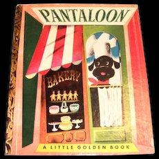 Little Golden Book: Pantaloon, 1951, A Edition