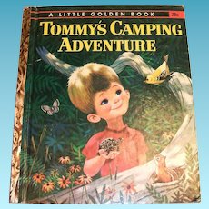 Little Golden: Tommy's Camping Adventure - 1962