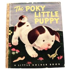 Little Golden Book: The Poky Little Puppy, 1950