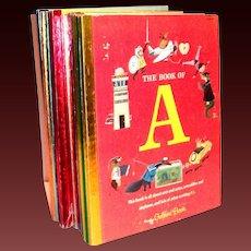 Little Golden: 16 Books Of My First Golden Learning Library: Alphabet Books