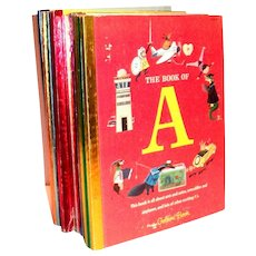 Little Golden: 16 Books Of My First Golden Learning Library: Alphabet Books