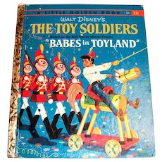 Little Golden: Disney's: The Toy Soldiers (Babes In Toyland) Children's Book, 1961