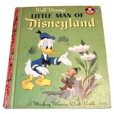 Little Golden Book: Disney's: Little Man Of Disneyland, 1955
