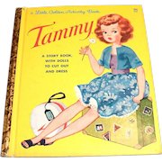 Little Golden Activity Book: Tammy, 1963, A Edition