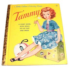 Little Golden Activity Book: Tammy, 1963, A Edition