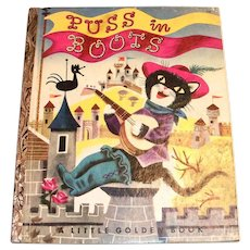 Little Golden Book: Puss In Boots - 1953, A Edition