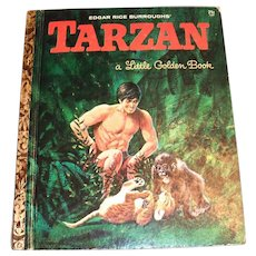 Little Golden Books: Tarzan 1964