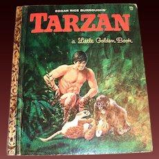 Little Golden Books: Tarzan 1964