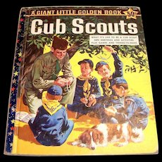 A Giant Little Golden Book: Cub Scouts, 1959, A Edition