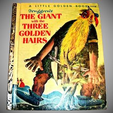 Little Golden Book: Tenggren's The Giant With The Three Golden Hairs-1955