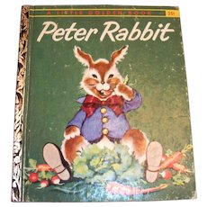 Little Golden Book: Peter Rabbit - 1958, A Edition