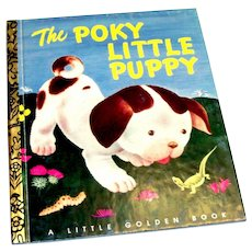 Little Golden Commemorative: The Poky Little Puppy Children's Book-1992