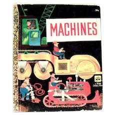 Little Golden Book: Machines - 1961, B Edition