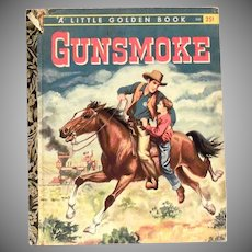 Little Golden: Gunsmoke Children's Book - 1958