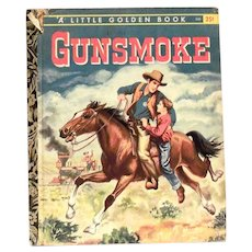 Little Golden: Gunsmoke Children's Book - 1958