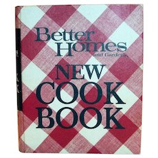 Better Homes New Cook Book, Fifth Printing, 1972