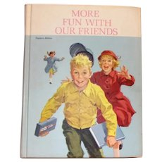 More Fun With Our Friends Teacher's Edition School Textbook - 1962