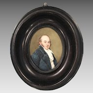 Antique portrait miniature oil painting of HRH The Duke of Kent