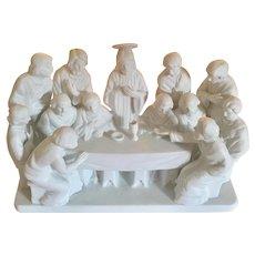 Lenox The Last Supper Vintage  Limited Edition, White Bisque / Porcelain