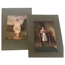 Vintage John Hoppner Offset Prints from Virtue and Co. London