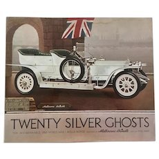 Twenty Silver Ghosts Rare 1st Edition 1971 Text: Phil May Paintings: Melbourne Brindle