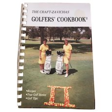 The Craft-Zavichas Golfer's Cookbook II 1980's Retro Recipes