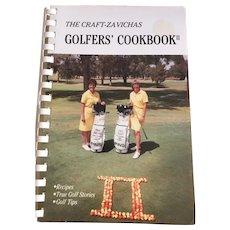 The Craft-Zavichas Golfer's Cookbook II 1980's Retro Recipes
