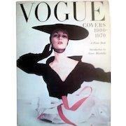 HOLD For Itsaar! Vogue Oversize Poster Book 1900 - 1970  Iconic Vintage Publication