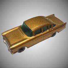 Matchbox Lesney No.22b Vauxhall PA Series Cresta 1958 - Last Issue Copper