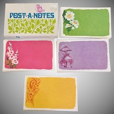 Current Inc.  Boxed Post-A-Notes Post Cards, 1970's