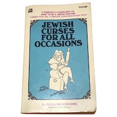 Jewish Curses for All Occasions 1970 Mass Market Paperback