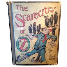 The Scarecrow of Oz Reilly & Co 1920 printing of the 1915 1st Edition