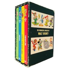 Disney's The Wonderful Worlds of Walt Disney Boxed Book Set 1965